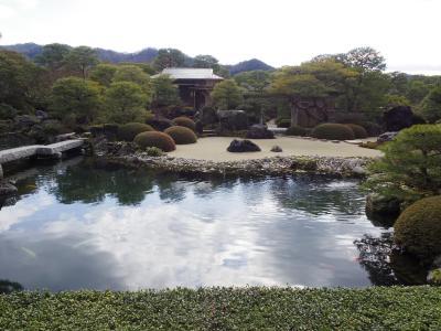 出雲大社参拝と鳥取砂丘・13年連続庭園日本一