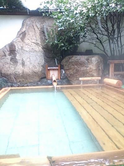 冬の三朝温泉