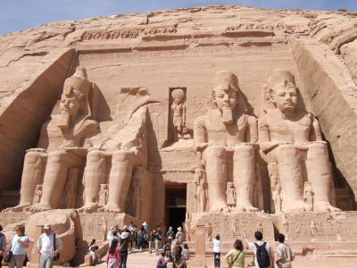 エジプト アブシンベル -2- 2009/2/17