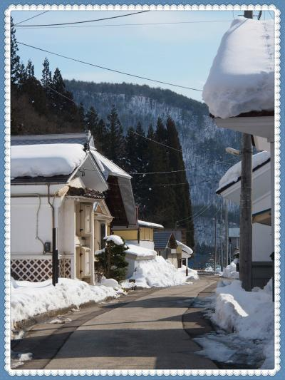今年はまさかの・・・雪がない~~!!のでちょっとガッカリ気味・・・★会津絵ろうそくまつり~ゆきほたる~★2★喜多方郊外へ・・・田んぼの中の蔵集落、寺院仏閣など★