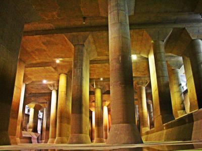 水龍が宿る地の底へ/地下神殿:首都圏外郭放水路