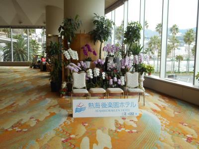 2016年2月 熱海 後楽園ホテルと三島の鰻重