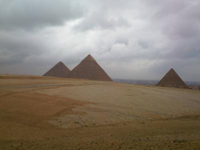 ピラミッド観光