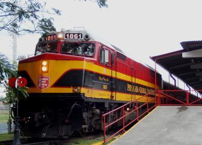 気ままに中米を飛ぶ、青の紀行11 パナマ鉄道に乗ってみた!