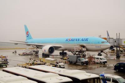 ミニ同窓会 in ソウル Part 1 - 大韓航空でピューっとソウルへ