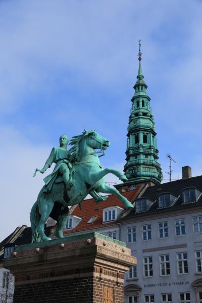 コペンハーゲン、ストップオーバーで少し観光