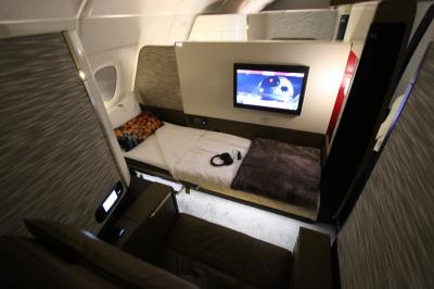 ETIHAD First Apartment    JL  TG  NH FirstClassを乗り継いで満喫 ?