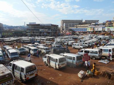 弾丸ウガンダ1512  「標高1,190mに位置するウガンダ最大の都市」   ~カンパラ~