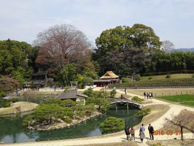 凝縮された美しい景色の名庭園:後楽園☆☆☆〈1〉 2泊3日岡山の旅