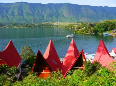 スマトラ島ゆっくり滞在3●トバ湖の村外れで一週間