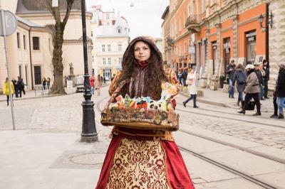 ウクライナ第二の都市、リヴィウ