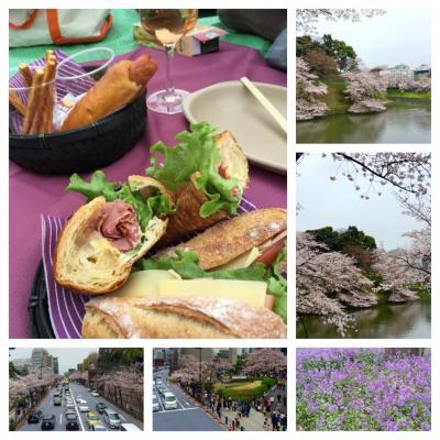 【東京】2016お花見に出かけました、千鳥ヶ淵~北の丸公園~靖国神社