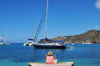 2016年カリブの旅(2) アンティグア・バブーダ島の大人のリゾートinイングリッシュ・ハーバー