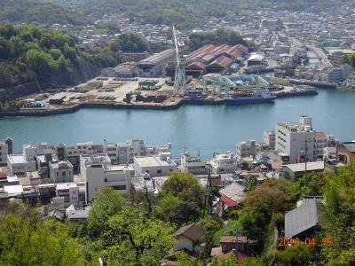 小倉松山フェリーで四国へ ①道後温泉本館入浴の後しまなみ海道経由尾道へ