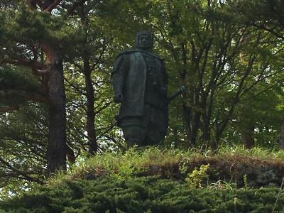 2016GWは海外ではなく新潟へ ①上杉謙信公居城の春日山城で軽いトレッキング
