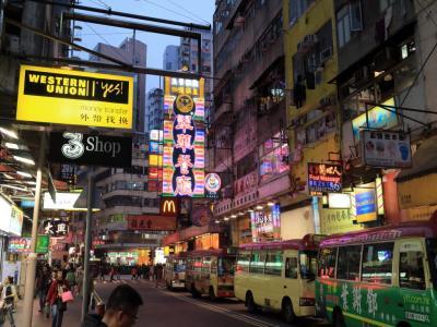 『2015年末』5回目の香港旅行&1日マカオとディズニーランド 前編
