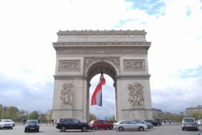Paris * オランジュリー美術館 モネの『睡蓮』