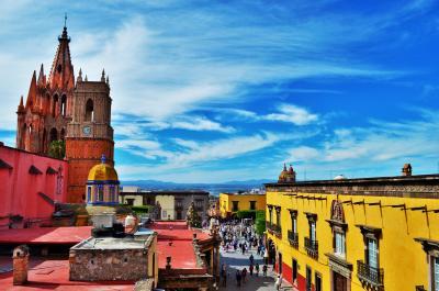 【メキシコ】コロニアルの古都と都会を満喫③サン・ミゲル・デ・アジェンデ