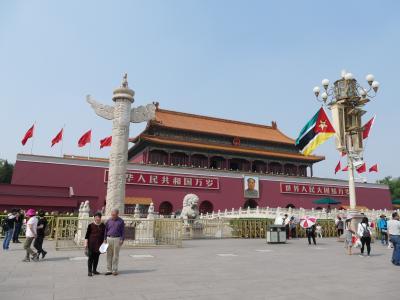 天安門(故宮)とちょっとだけ北京動物園