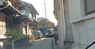 【徳島県】たぶん、日本で一番せまい道、、徳島の椿泊