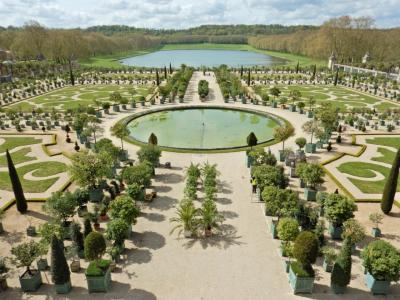 フランス・パリ旅行7泊9日(5)何かと裏目に出た、ヴェルサイユ宮殿と広大な庭園の散策「庭園編」(2016GW)