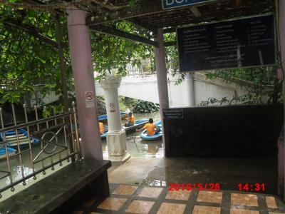 雨また雨のトラン旅行(ちょっとだけ観光、これが恐怖の観光)
