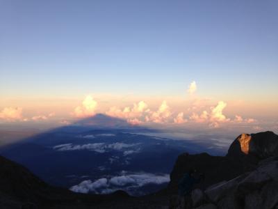 コタキナバル旅行 その①キナバル山登頂&ヴィアフェラータ体験
