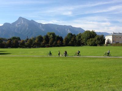 サウンド・オブ・ミュージック 自転車ツアー in ザルツブルク