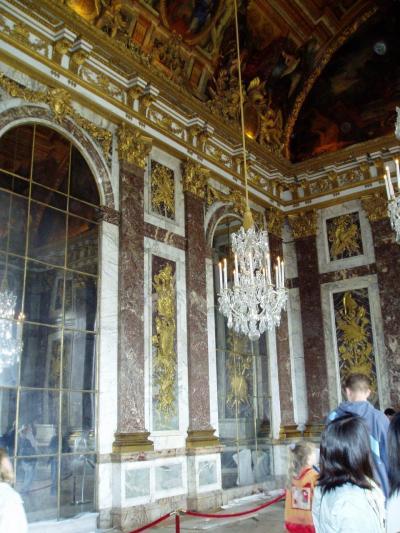 (19)2004年GWフランス・モナコの旅10日間⑮ベルサイユ宮殿(礼拝堂 寝室 王座の間 鏡の間 庭園)