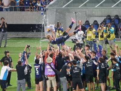初!吹田スタジアム!宇佐美選手最後の試合観戦。とんぼ返りで豚まんゲット♪