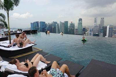 シンガポール旅行☆マリーナベイサンズのプールに入りたい!②☆2015.10.29~11.2