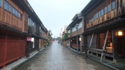 研修帰りに金沢に行きました。