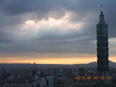 2016年 初6月の台湾旅行 7泊8日の旅(今回で15回目)  6月30日(木) 7日日