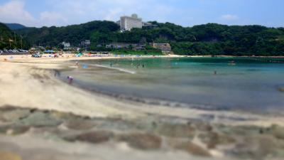 16年7月海水浴@伊豆