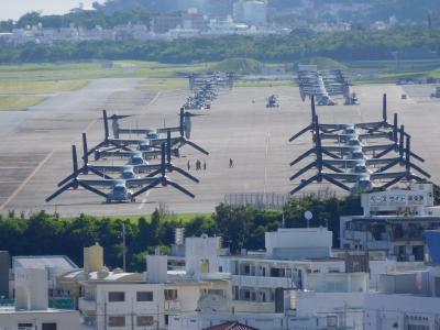 沖縄一人で基地見学