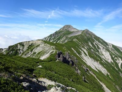 北アルプス♪笠ヶ岳&黒部五郎岳登山(新穂高~折立)
