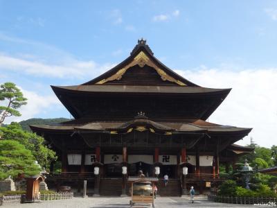 善光寺にお詣りし、やっと両詣りが成就と思いきや・・・