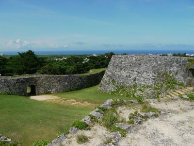 沖縄・本島中部「座喜味城跡」