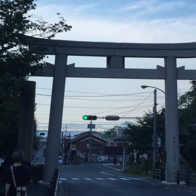 琵琶湖ホテル、近江神宮、坂本散策