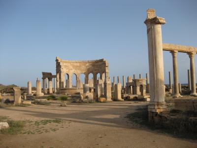 安全に旅できた頃のリビア&フィレンツェ、ピサ=2008年11月①(レプティスマグナ)