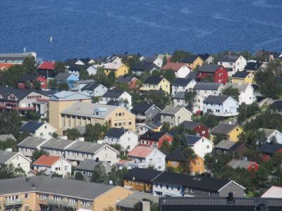 北極圏の町キルケネスを散策 フィヨルド定期航路の旅 No9