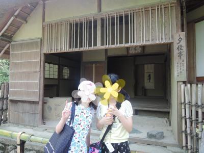 真夏の京都を家族旅行1