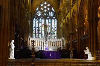 2016年最初の旅【3】ANAビジネスクラスで行く「はじめてのシドニー」(南半球に輝く「セントメアリー大聖堂」に魅せられて!)
