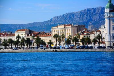 アドレア海の旅の始まり、スプリット(クロアチア・ダルマチア旅行①)
