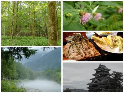 夏の上高地・乗鞍ハイキング vol.4 ~ 爽やかな朝から一転…霧に包まれた上高地を出て 松本へ ~