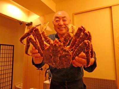 美味いカニを食べるため、札幌・すすきのへ!
