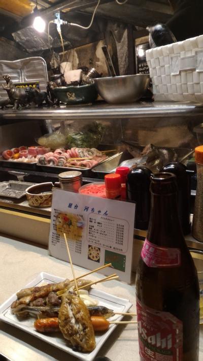 福岡・大分旅行② 博多の屋台&櫛田神社