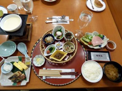 07.夏の大泉高原 八ヶ岳ロイヤルホテル1泊 日本料理 甲斐の朝食