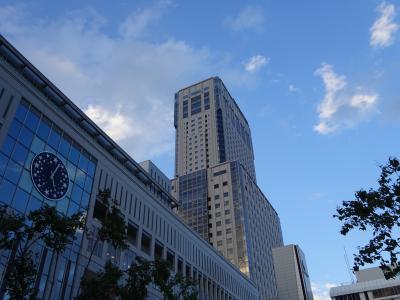 初秋の札幌3泊4日①:JRタワーホテル日航札幌