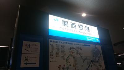 HKDL 香港ディズニーハロウィン2016 大阪関空→香港空港まで